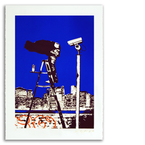 Moon Over Manhattan Print