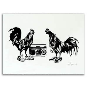 Rooster Collective Print