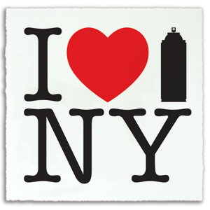 I Spray New York Print