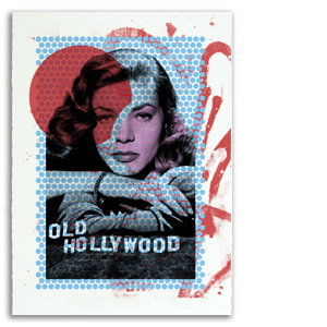Old Hollywood 1 Print