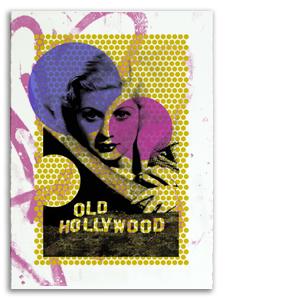 Old Hollywood 2 Print